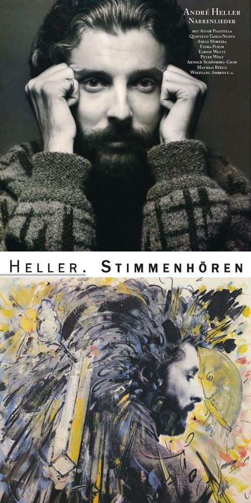 André Heller - Narrenlieder - Stimmenhoeren