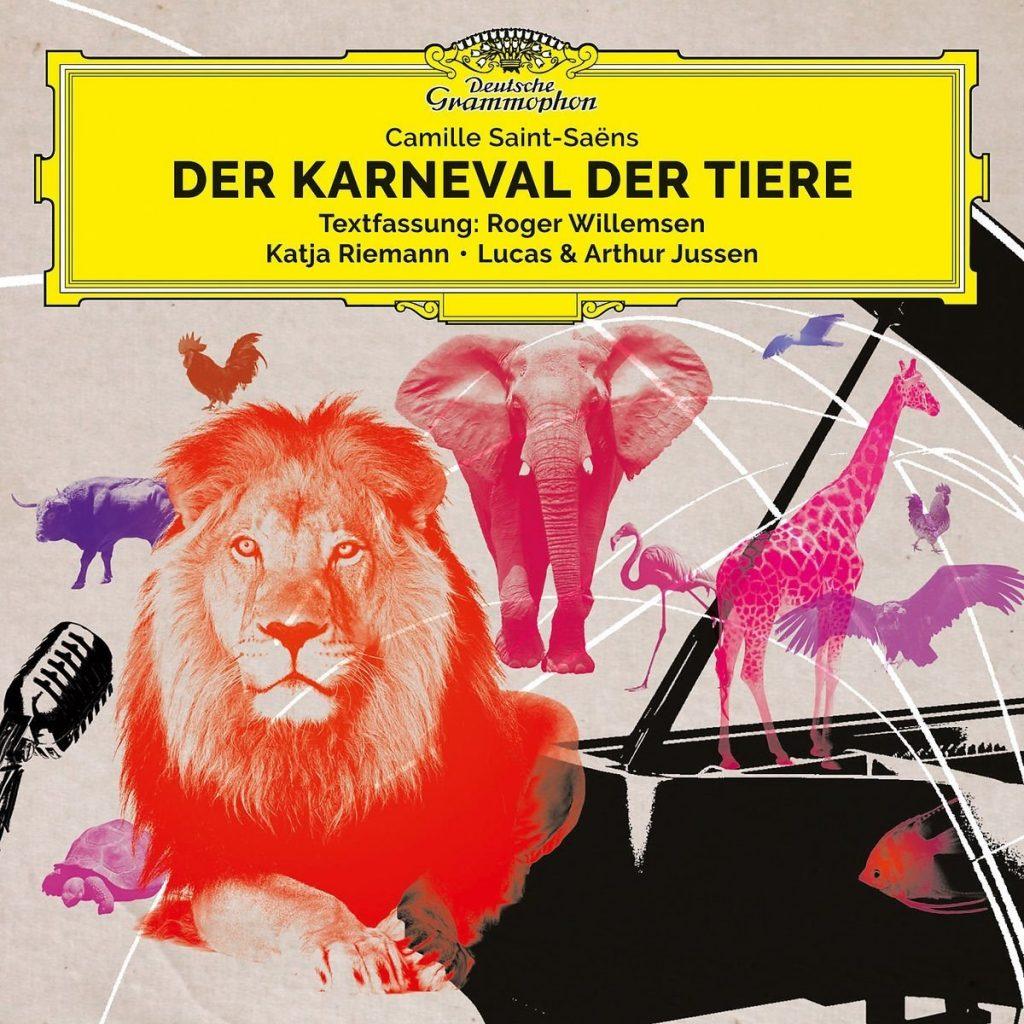 Katja Riemann, Arthur Jussen, Lucas Jussen – Der Karneval der Tiere
