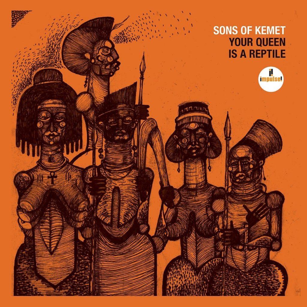 """Sons of Kemet – Das neue Album """"Your Queen Is A Reptile"""" erscheint am 30. März"""