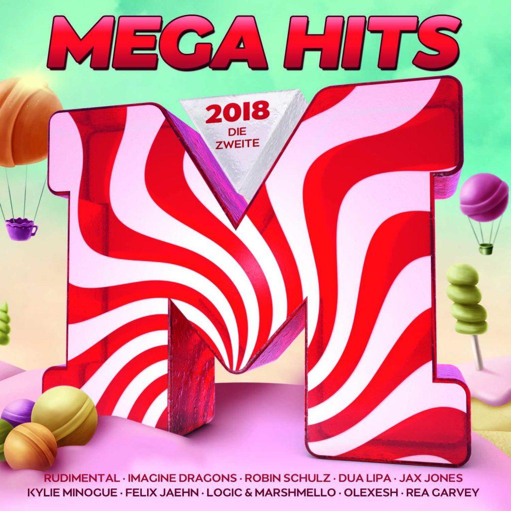 MEGAHITS 2018 – Die Zweite