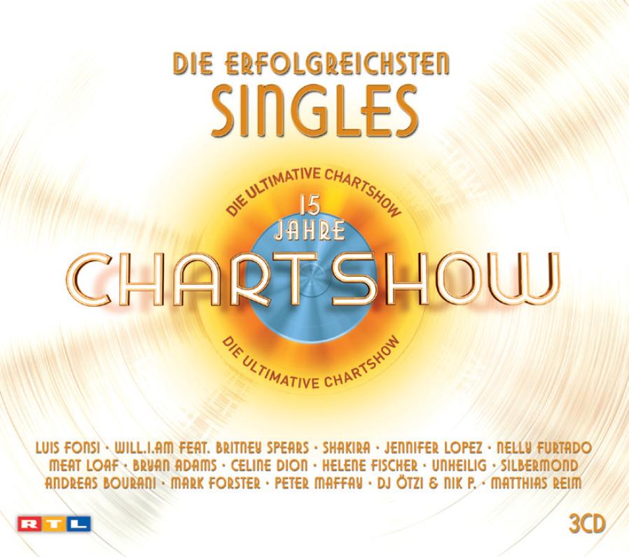 Die ultimative Chartshow – Die erfolgreichsten Singles (15 Jahre)