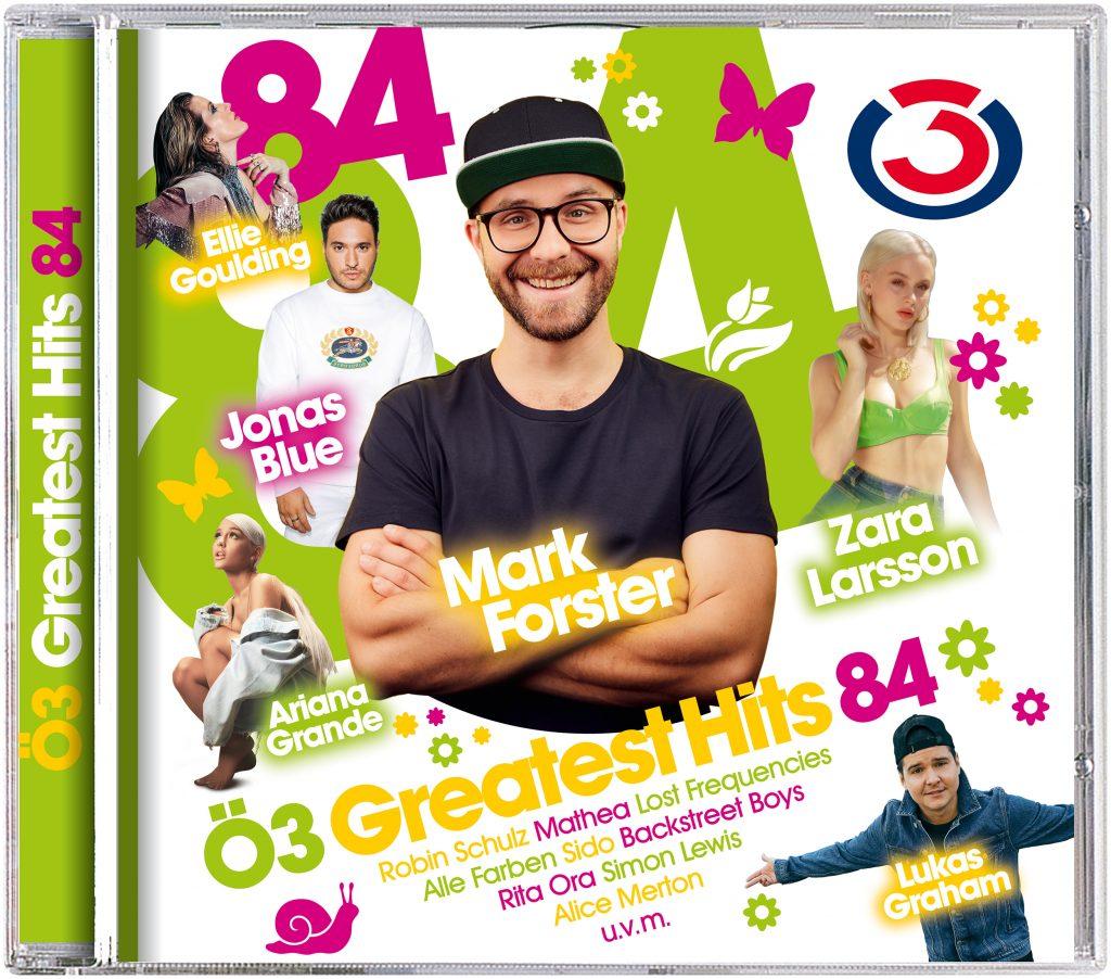"""""""Ö3 Greatest Hits Vol. 84"""" vereint alle aktuellen Ohrwürmer auf einer Compilation!"""