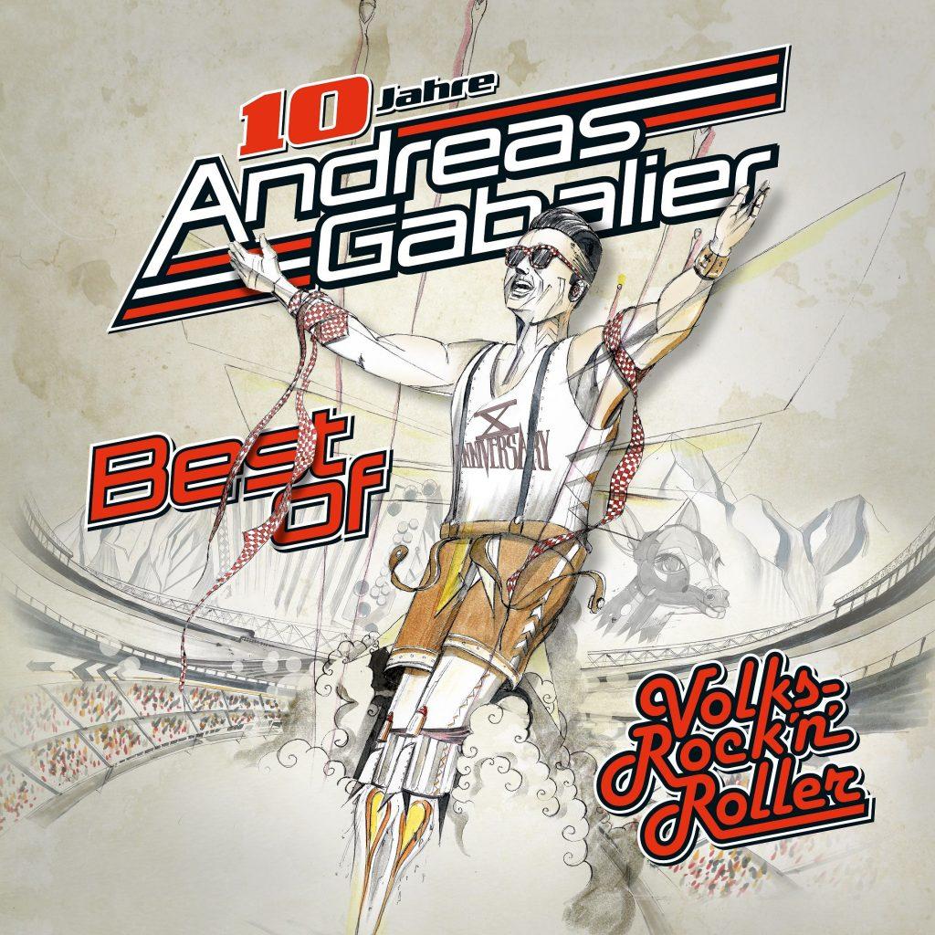 """Andreas Gabalier erobert mit """"Best of Volks-Rock'n'Roller"""" die Charts!"""