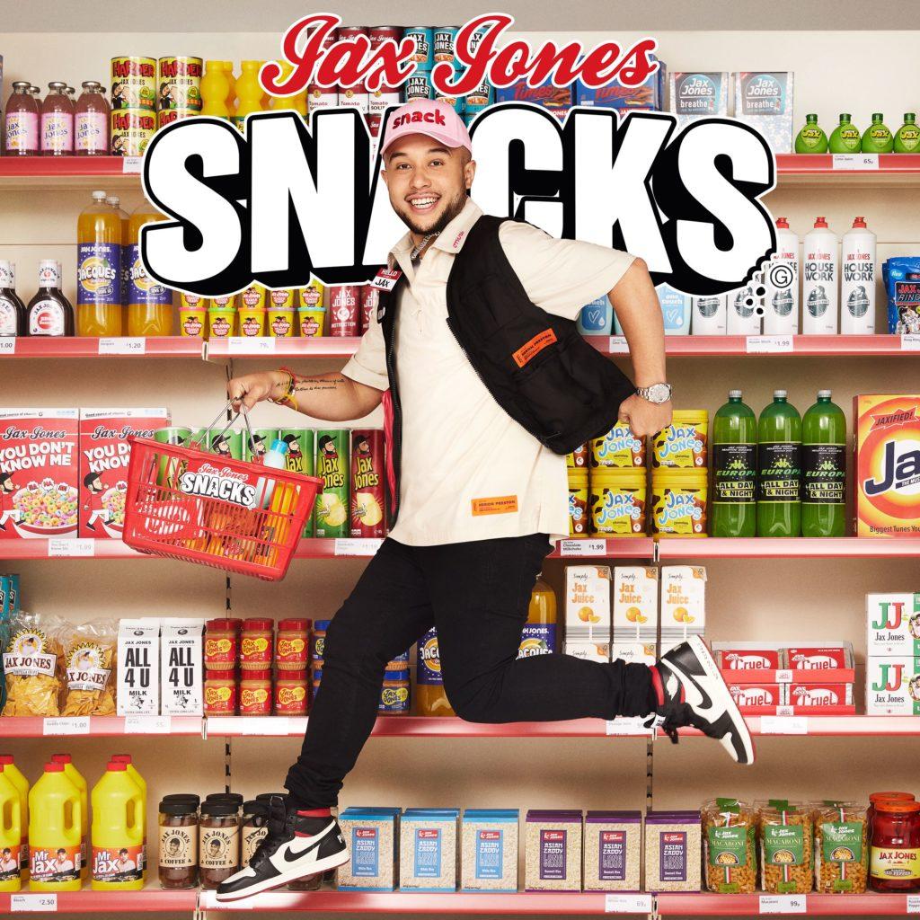 """JAX JONES veröffentlicht sein Album """"SNACKS (Supersize)"""""""