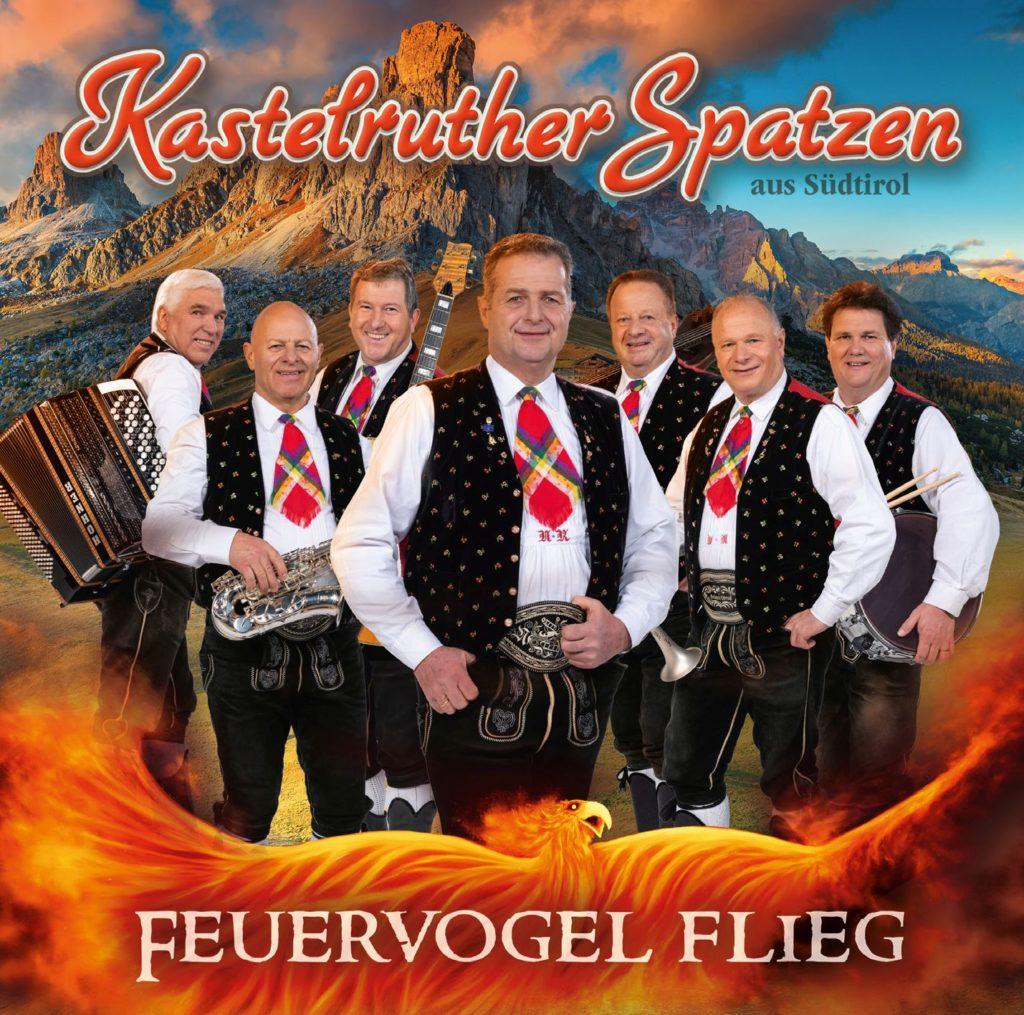 """KASTELRUTHER SPATZEN mit neuem Album """"Feuervogel flieg"""" & Fan-Box"""