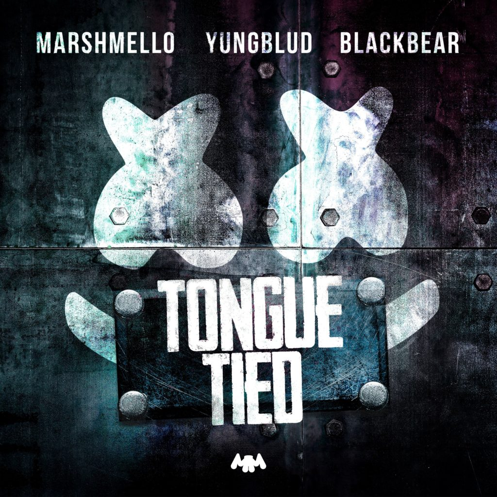 "Marshmello, YUNGBLUD, blackbear ""Tongue Tied"" (2019)"