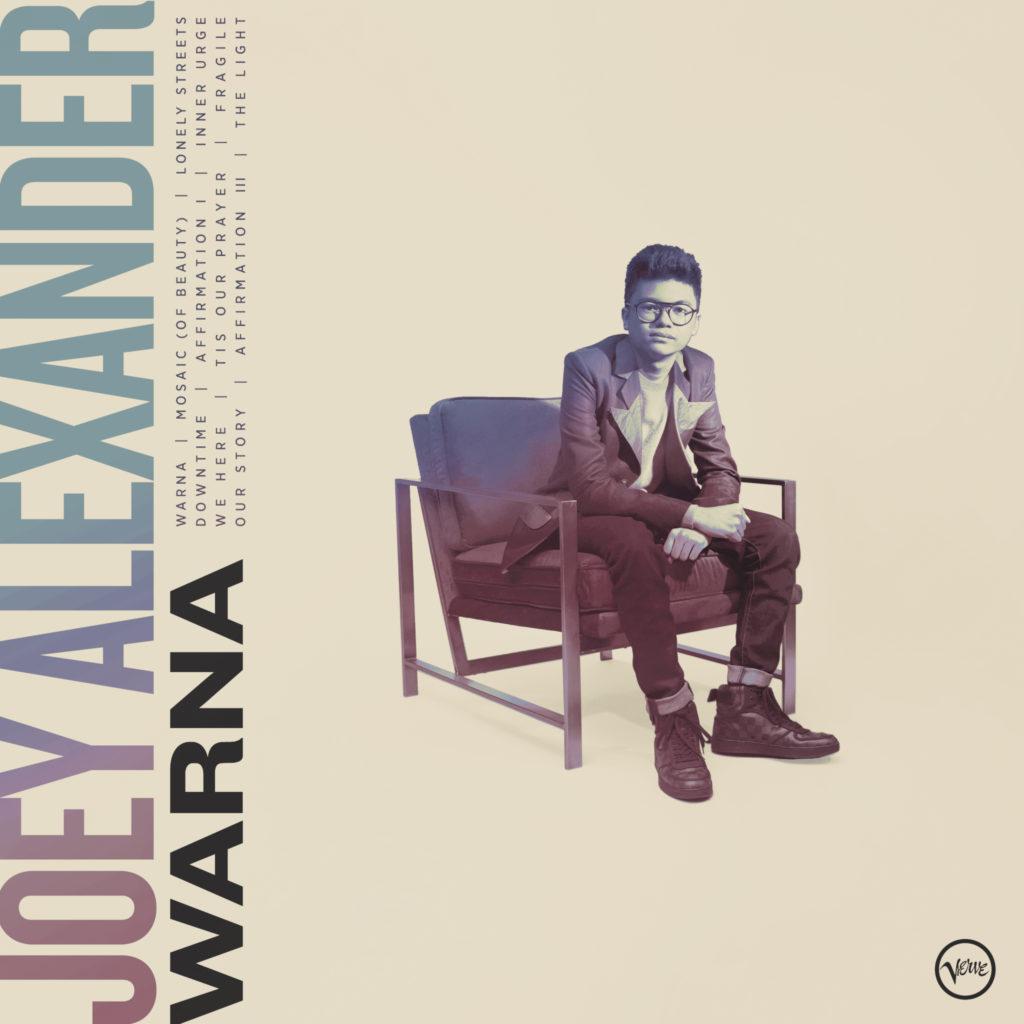 Jazz Talent JOEY ALEXANDER veröffentlicht sein Album WARNA