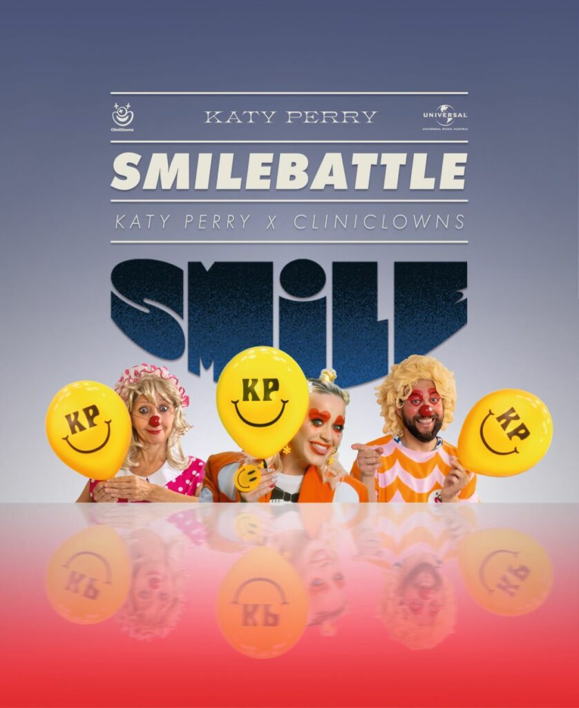"Katy Perry X CliniClowns ""Smilebattle"" (2020)"