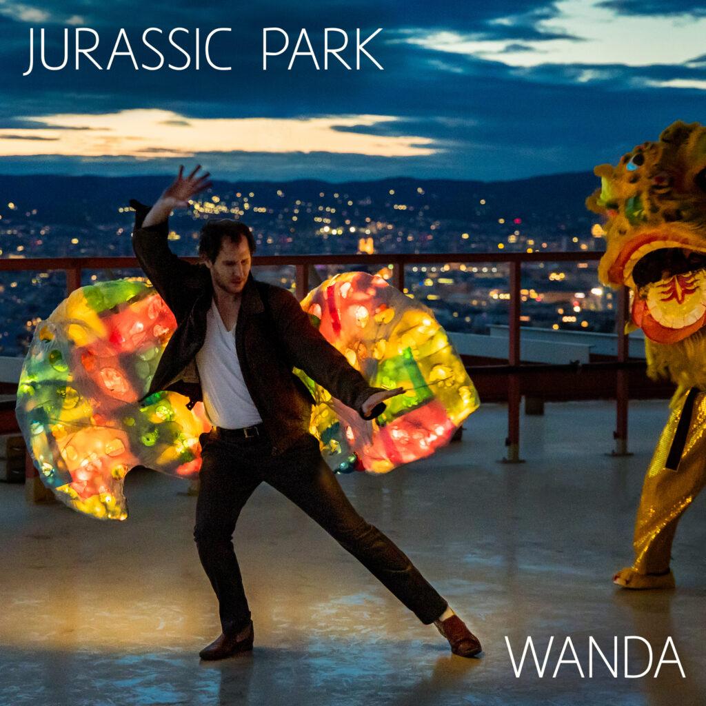 """Wanda auf Verfolgungsjagd im """"Jurassic Park"""""""