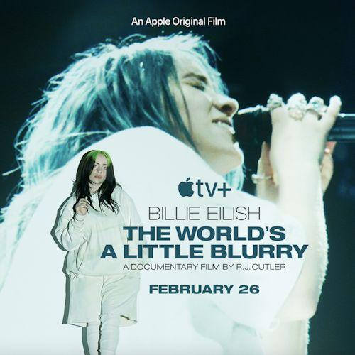"""Billie Eilish veröffentlicht ihre Dokumentation """"The World's A Little Blurry"""""""