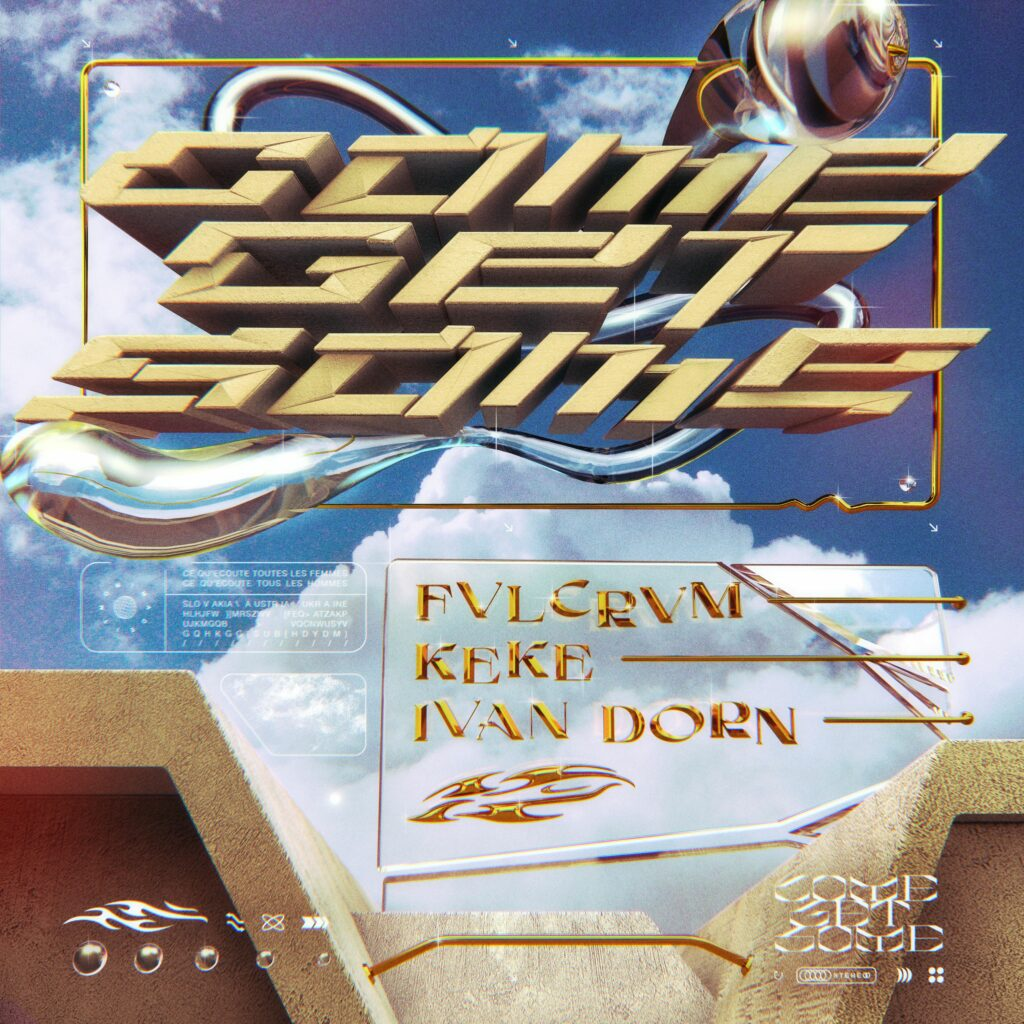 """KeKe, FVLCRVM und Ivan Dorn """"Come Get Some"""""""