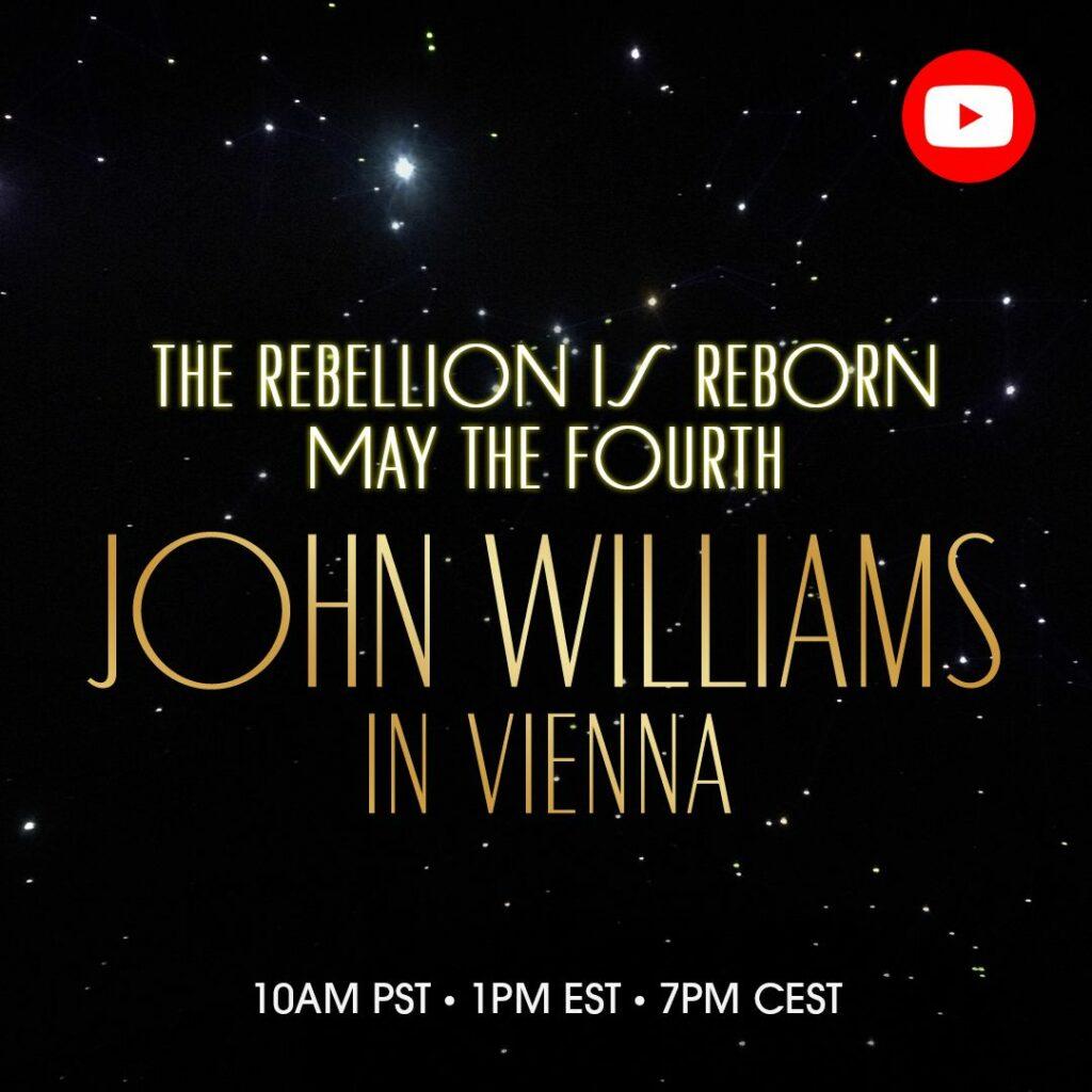 #MayTheFourthBeWithYou – John Williams In Vienna