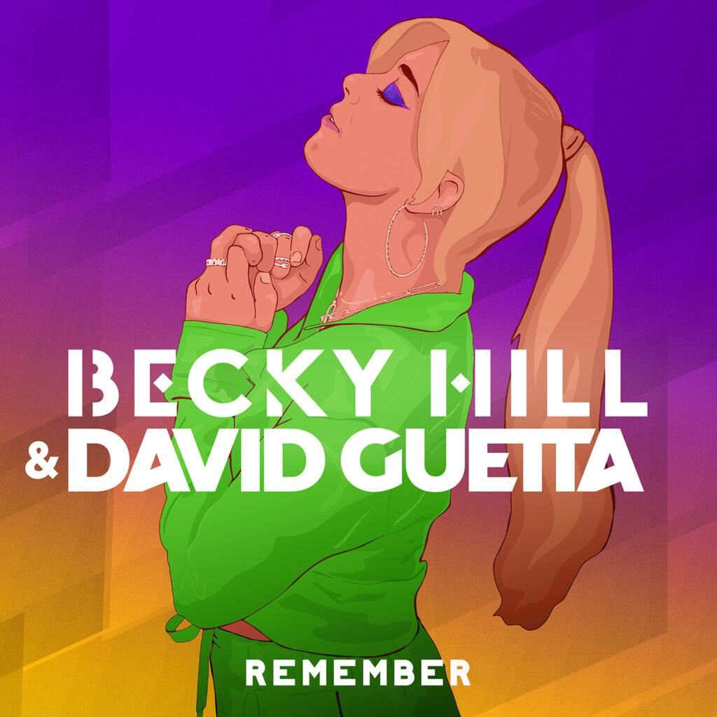 """Becky Hill & David Guetta """"Remember"""""""