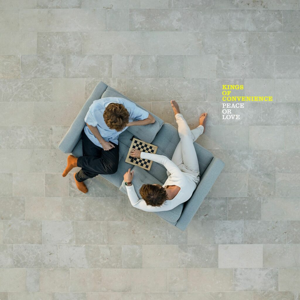 """Kings of Convenience Album """"Peace Or Love"""""""