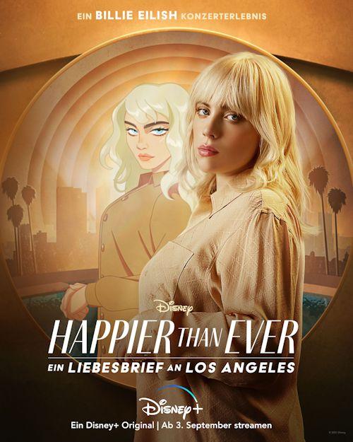 """Billie Eilish """"Happier Than Ever - Ein Liebesbrief an Los Angeles"""" (Konzertfilm 2021)"""