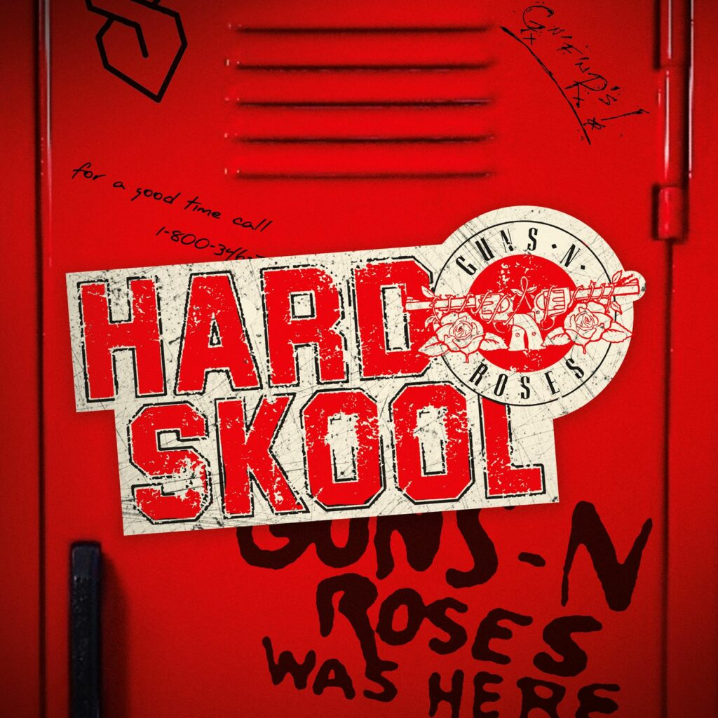 """Guns N'Roses veröffentlichen neue Single """"Hard Skool"""""""